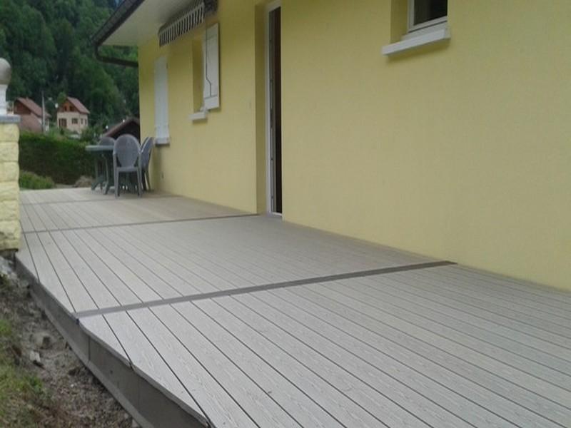 Réalisation d'un terrasse